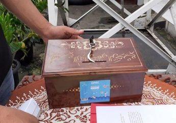 Komplotan Maling Sikat Kotak Amal Potong Rantai Pengaman, Pakai Atribut Ojol Nopol Motornya B 3231 SJV