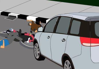 Nyaris Meledak! 3 Pemotor Ambyar Diseruduk Honda Jazz dan Truk Tabung Gas, 1 Pemotor Tewas Terkapar di Tengah Jalan