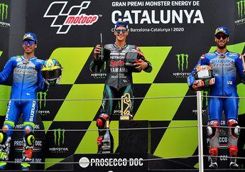 Gak Banyak Yang Tahu, Fakta Heboh Suzuki Podium di MotoGP Catalunya 2020