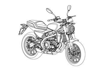Akhirnya Muncul Gambar Paten Harley Davidson Mini, Pakai Mesin 300 Cc
