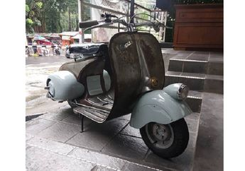 Replika Vespa 98 Seri 0 Tahun 1946, Vespa Terlangka dan Hampir Punah