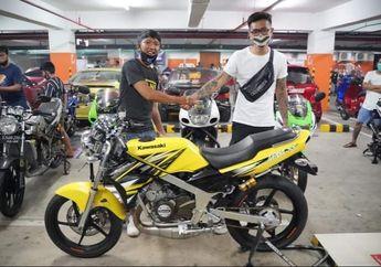 Gokil! Kawasaki Ninja SS 150 2-Tak Kondisi Kinclong Laku Ditebus Rp 120 Juta, Ternyata Ini yang Bikin Mahal