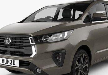 Bocor Foto Toyota Kijang Innova Facelift 2020, Desain Lebih Gagah Harganya Setara 9 Unit Honda PCX 150, Sikat Bro