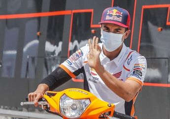 Marc Marquez Absen Di MotoGP Aragon 2020, Adios Juara Dunia MotoGP