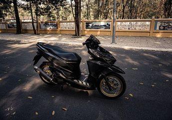 Sangar Abis! Honda Vario 150 Pakai Baju Serat Karbon,Makin Mewah Dipasang Komponen Ini