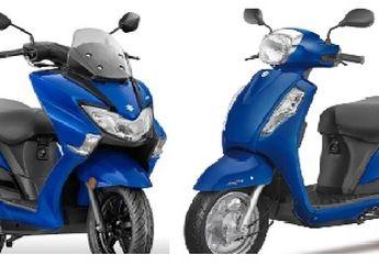 Mulai Rp 15 Jutaan 2 Motor Matic Baru Suzuki, Punya Fitur Android Bakal Jadi Saingan Honda BeAT dan Yamaha NMAX?