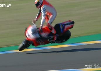 Selain Valentino Rossi, MotoGP Prancis 2020 Bikin Deretan Pembalap Jatuh