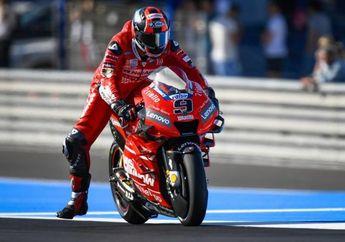 Hasil Lomba MotoGP Perancis 2020, Danillo Petrucci Juara, Valentino Rossi Jatuh Di Lap Pertama