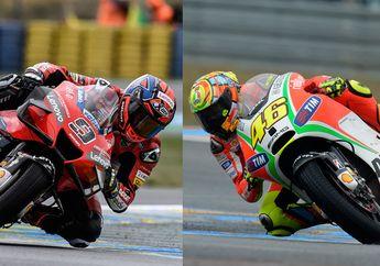 Kalahkan Valentino Rossi, Fakta Heboh Danilo Petrucci Juara MotoGP Prancis 2020
