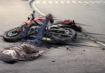 Kecelakaan Maut, Yamaha Byson Hajar Motor Tiga Roda, Pengendara Motor Tewas Terlindas Truk