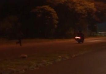 Cerdas! Antisipasi Patroli Malam Polisi,  Para Pembalap Liar Pakai Alat Ini Buat Komunikasi