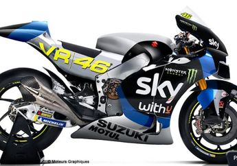 Heboh, Beredar Foto Desain Motor Tim MIlik Valentino Rossi VR46 Menjadi Tim Satelit Suzuki di Kelas MotoGP