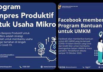 Buruan Diurus Besok Terakhir Daftar Bantuan Facebook, Begini Cara Cek Bantuan UMKM dan Link Daftar Bantuan Rp 2,4 Juta