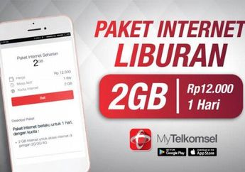 Asyik Nih Ada Promo Telkomsel Weekend, Paket Internet 2 GB Cuma Rp 12 Ribuan dan Hadiah Rp 5 Juta