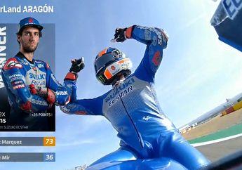Hasil MotoGP Aragon 2020, Suzuki Tekuk Yamaha, Alex Marquez Kembali Podium