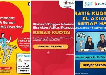 Jangan Dibocorin! Ternyata Ada Kode Rahasia Dapat Kuota Internet Murah Meriah Telkomsel, Indosat dan XL, Bisa Dicoba Bro