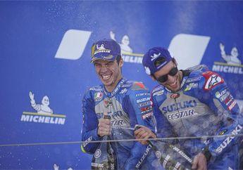 Bikin Merinding, Murid Valentino Rossi Ketakutan Lihat Performa Duo Suzuki di MotoGP Aragon 2020