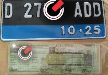 Wuih Pelat Nomor Kendaraan Listrik Punya Ciri Khusus, Simak Nih Bedanya
