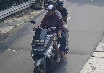 Viral, Penjambret Naik Yamaha NMAX Rampas HP Anak Kecil di kebayoran Lama Terekam CCTV, Pelaku Gak Bisa Tidur Nyenyak Nih