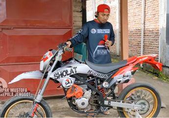 Gokil! Modifikasi Kawasaki KLX150 Jadi Motor Listrik,Mesinnya Bikin Penasaran Buatan Anak Indonesia Nih