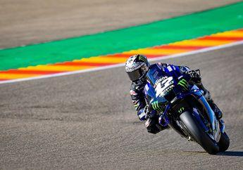Hasil FP4 MotoGP Teruel 2020, Maverick Vinales Meroket, Adik Marc Marquez Cuma Posisi Segini