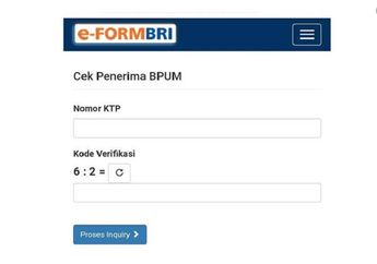 Asyik Cuma Klik Link e-Form BRI Cek Bantuan UMKM Rp 2,4 Juta, Saldo ATM Bikers Langsung Bertambah