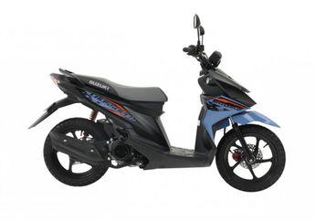 Harganya Setara Honda Scoopy, Kembaran Suzuki Nex II Cross Ini Akhirnya Resmi Meluncur