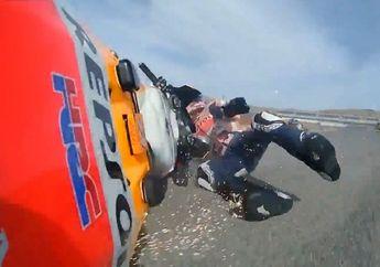 Panas! Alex Marquez Serang Johann Zarco Gara-gara Jatuh dan Terseret di MotoGP Teruel Minggu Lalu