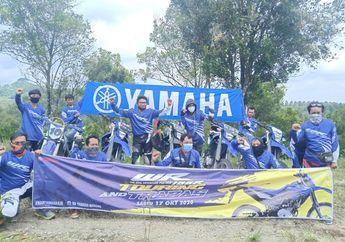 Dorong Terbentuknya Komunitas WR 155 R, Yamaha Madiun-Kediri Gelar Trabasan ke Bukit Teletubies