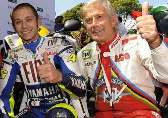 Pembalap Legenda Ingatkan Valentino Rossi, MotoGP Itu Olahraga Buat Anak Muda