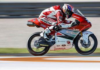 Mantul! Pembalap Indonesia Mario Suryo Aji Meroket di CEV Moto3 Valencia