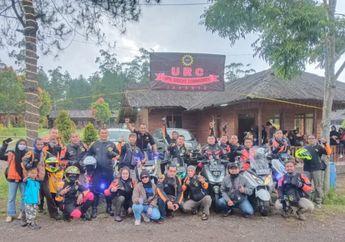 Mantap! UPN Riders Community Gelar Famgath Sekaligus Pelantikan Angkatan ke-3 di Kawah Putih Ciwidey