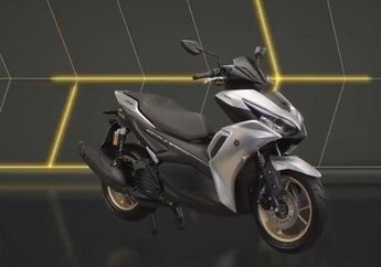 Yamaha All New Aerox 155 Akhirnya Meluncur, Makin Kental Aura Motor Matic Anak Muda