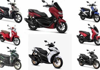 Update Harga Motor Matic Yamaha November 2020, Yamaha All New Aerox 155 Meluncur Hari Ini