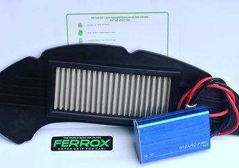 Sambut Motor Baru Yamaha, Ferrox Launching Filter Udara Untuk All New Aerox 155 Dengan Diskon Spesial