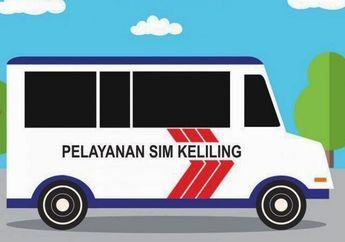 Lokasi SIM Keliling Kamis 25 Februari 2021, Segini Biaya Perpanjangan