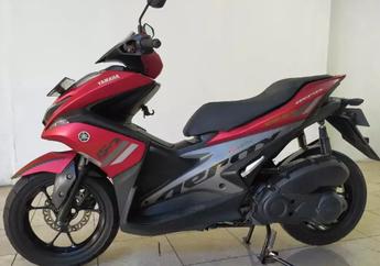 Segini Harga Yamaha Aerox 155 Bekas Setelah Versi Barunya Meluncur, Kondisinya Mulus Banget Bro!