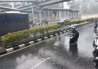 Waspada, BMKG Prediksi Cuaca Hari Ini di Jakarta dan Sekitarnya Diguyur Hujan, Ini Daftarnya