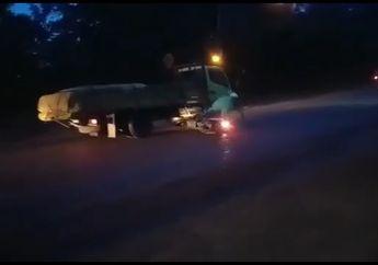 Kenapa Nih? Video Pemotor Tiba-tiba Jatuh Berjamaah di Cileungsi, Gara-gara Ada Kegiatan Ilegal Ini?