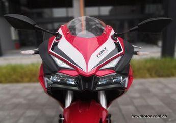 Wow! Motor Baru Mirip Honda CBR250RR Bermesin 450 cc Knalpotnya Macho, Harganya Murah Banget!