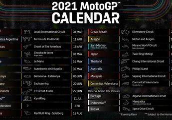 Sudah Keluar Jadwal Sementara MotoGP 2021, Aneh Kok Gak Ada MotoGP Indonesia?