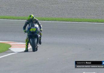 Valentino Rossi Stop Balap di MotoGP Eropa 2020, Masalah Mesin?