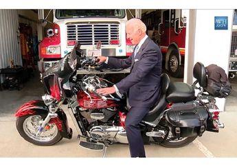 Ternyata Presiden Amerika Serikat Joe Biden Menyukai Motor Loh!