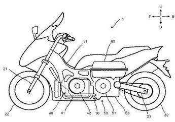 Bocor! Yamaha Lagi Rancang Motor Matic MAXI Bertenaga Hybrid, Pakai Desain NMAX?