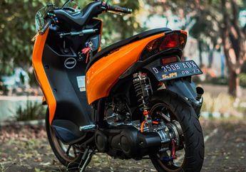 Sadis! Butuh Modal Rp 20 Jutaan Rombak Yamaha Lexi Jadi 200cc, Apa Aja yang Diubah Nih?