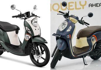 Murah Mana Motor Baru All New Honda Scoopy Dengan Yamaha Fino? Segini Harganya Periode November 2020