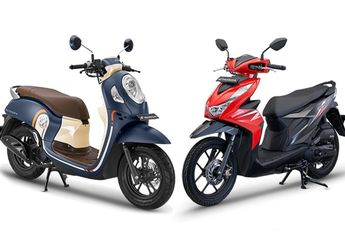 Sama-sama Motor Matic Honda, Pilih All New Honda Scoopy Atau All New Honda BeAT?