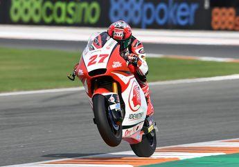 Hasil FP2 Moto2 Valencia 2020, Fabio Di Giannantonio Kencang, Pembalap Indonesia Pertajam Waktu