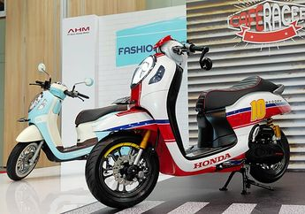 All New Honda Scoopy 2020 Modifikasi Pertama di Dunia, Ada Cafe Racer