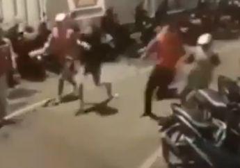 Viral! Video Tawuran Diduga Geng Motor di Sawah Besar, Kocar-kocir Dikejar Polisi